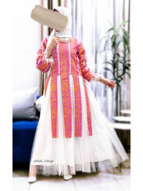 Pink Ramadan dress